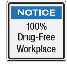 100% Drug-Free Workplace
