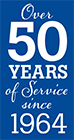 Brecke 50-years logo