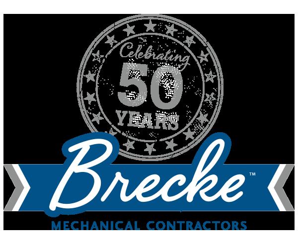 Brecke 50th Anniversary Logo