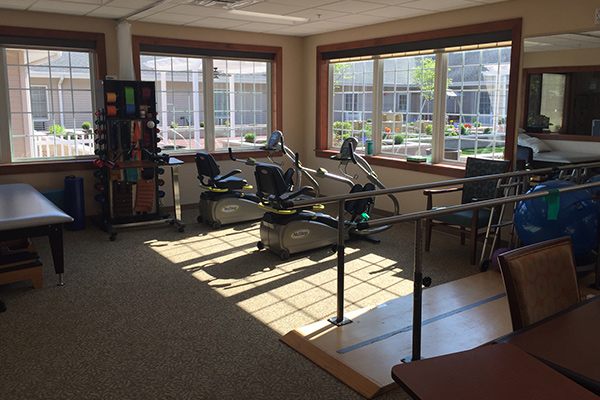Meth-Wick Physical Therapy renovations