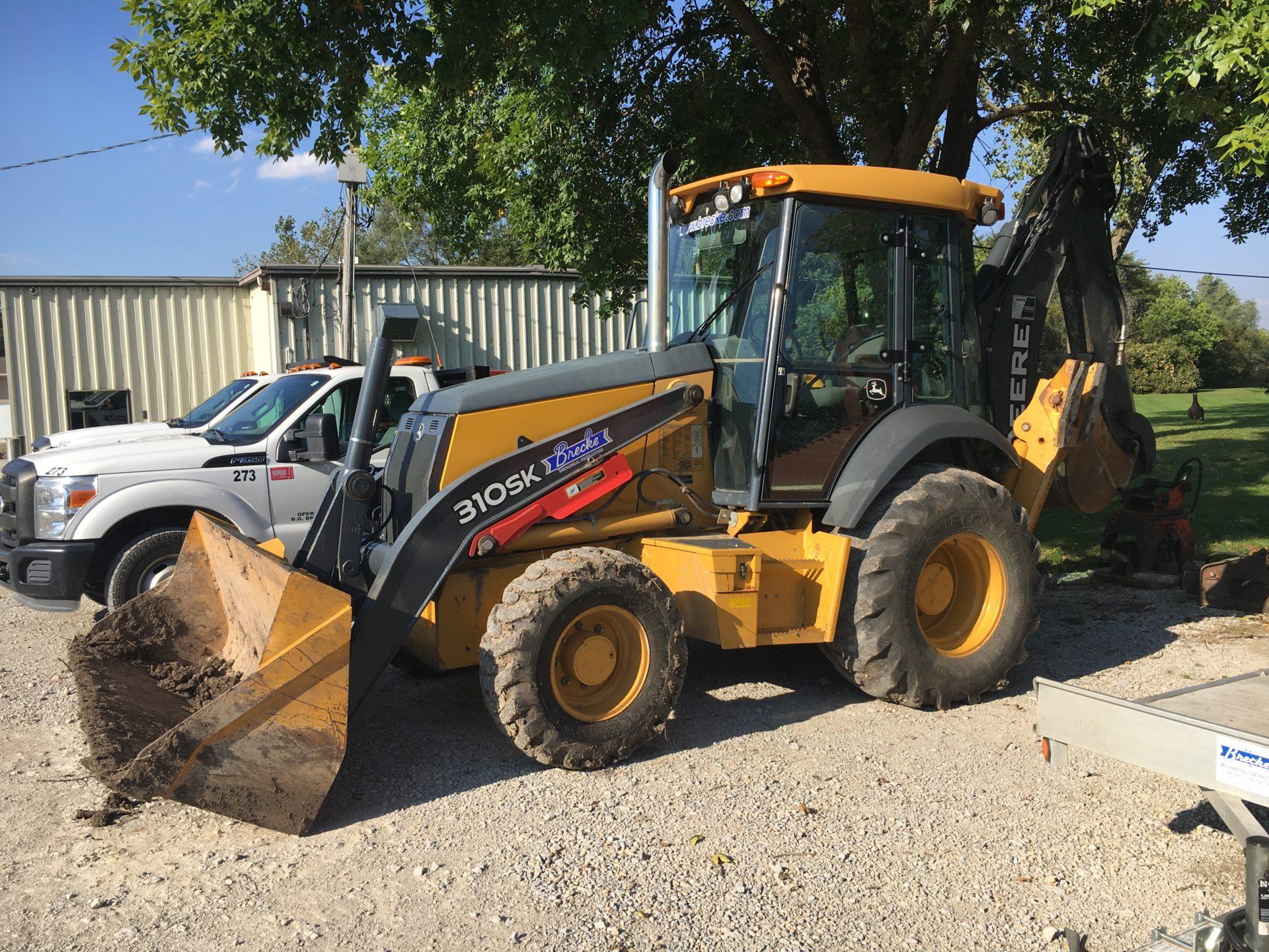 excavation services cedar rapids dubuque iowa city brecke