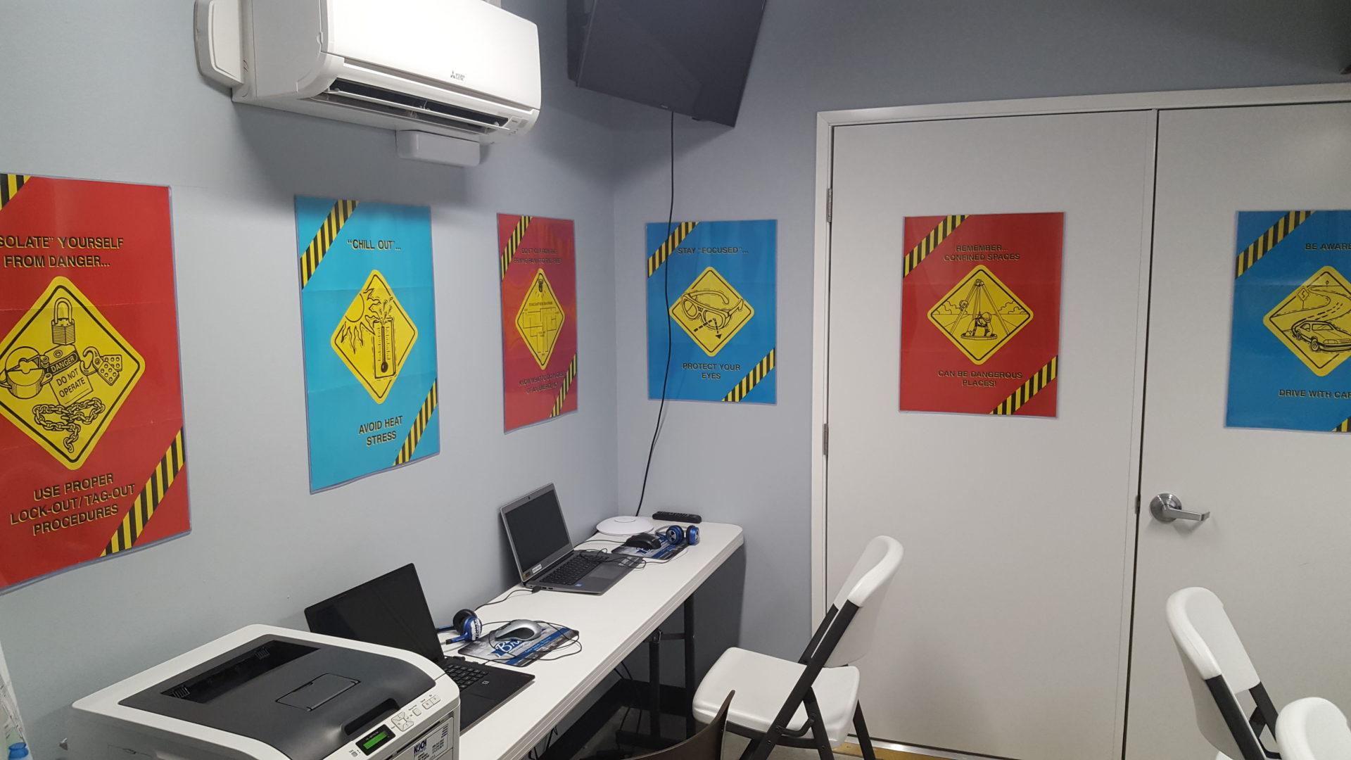 brecke safety training room