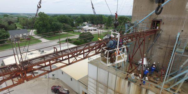 structural steel millwright brecke cedar rapids iowa