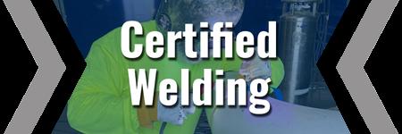 certified welding brecke service