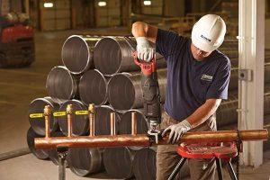 Copper T-Drill Plumbing Cedar Rapids Iowa City Dubuque Iowa