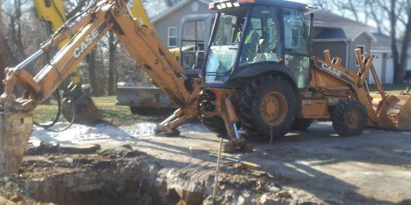 sewer and water excavation cedar rapids iowa city dubuque iowa