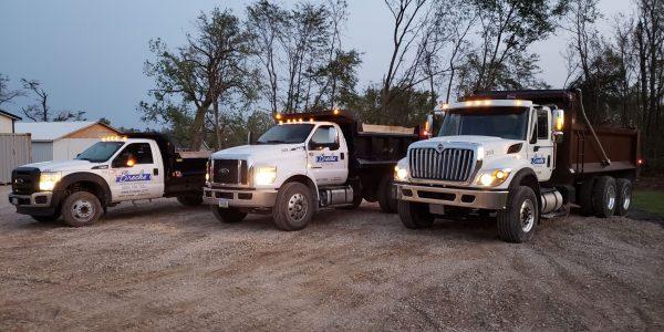 excavation team trucks 1