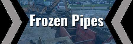 frozen pipes brecke service